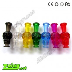 Colorful  plastic  skull tips 510 drip tips in cheaper price