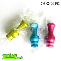 5pcs colorful vase 510 Drip Tips aluminum in mix color