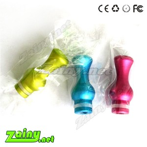 5pcs colorful vase 510 Drip Tips aluminum in mix color