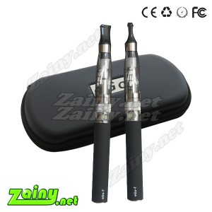 eGo T & Vision eGo Clearomizer CE6 changeable long wick  e-cigs in carry case