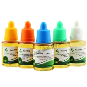 5pcs x 50ml Hangsen liquid Propylene glycol e-jiuce with SGS 100% PG