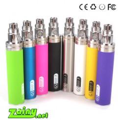 (2pcs/pack)New Big Capacity EGO II 2200mah electronic cigarette ego 2 week kgo 1 week   battery colourfull kgo battery