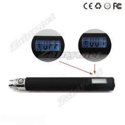 EGO-T LCD battery display the puffs (2 pack)
