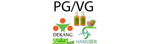 PG & VG Mixture Eliquid from Hangsen and Dekang